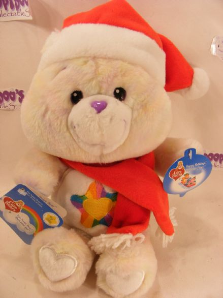 "BNWT 12"" CHRISTMAS TRUEHEART CAREBEAR CARE BEARS"